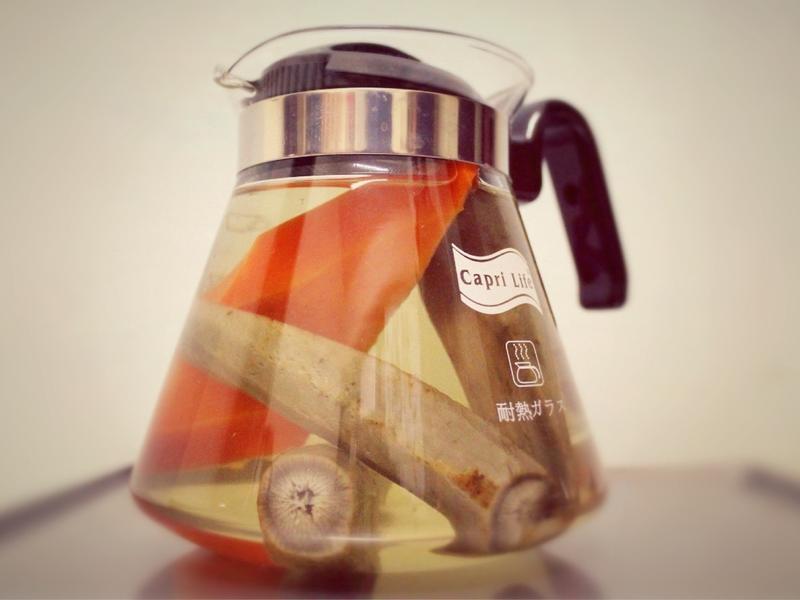 清甜牛蒡茶(可以當湯底)