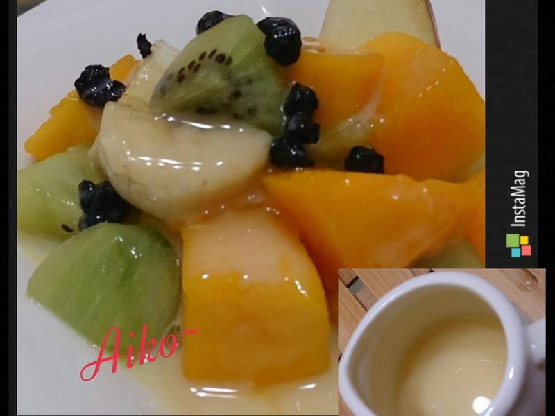 橙香優格水果沙拉