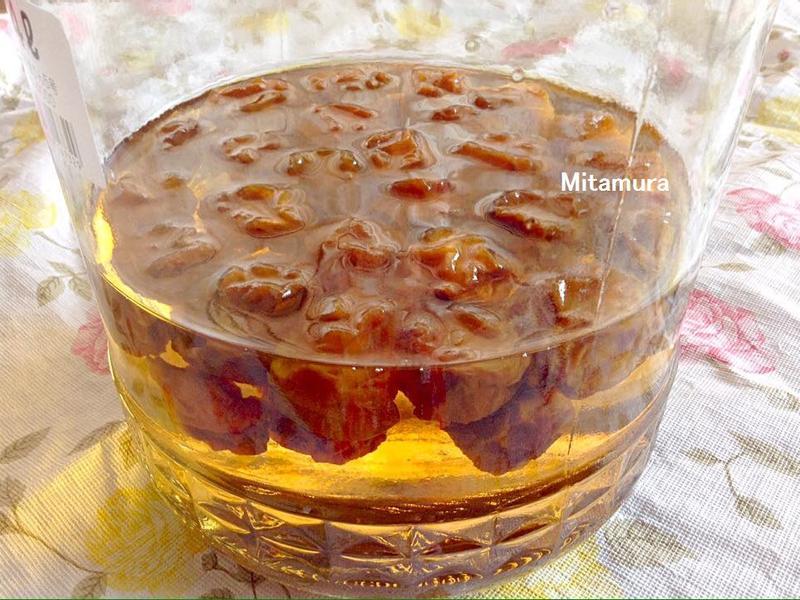 自製酸梅甜液(自家製梅シロップ)