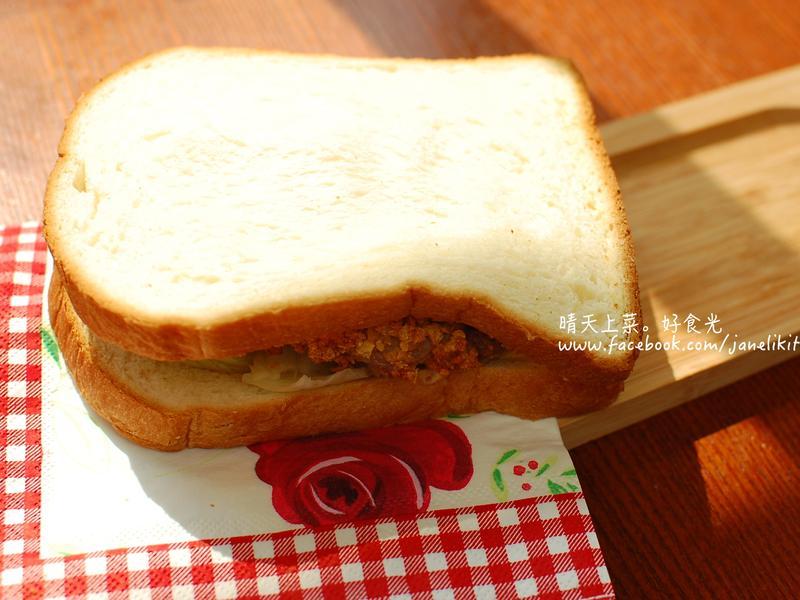 清爽版爆漿起司豬排三明治【免炸免醃】