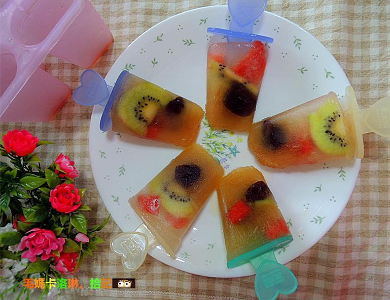 紫蘇梅水果冰棒