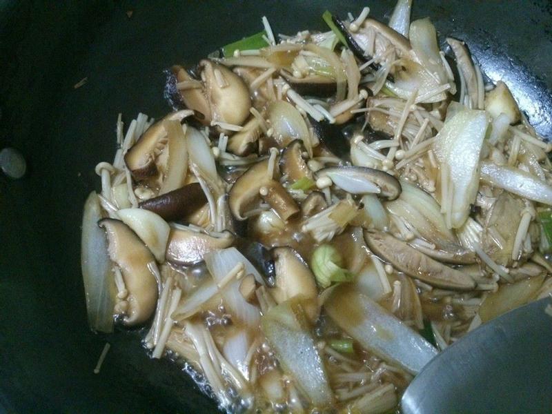 三杯洋蔥雙菇