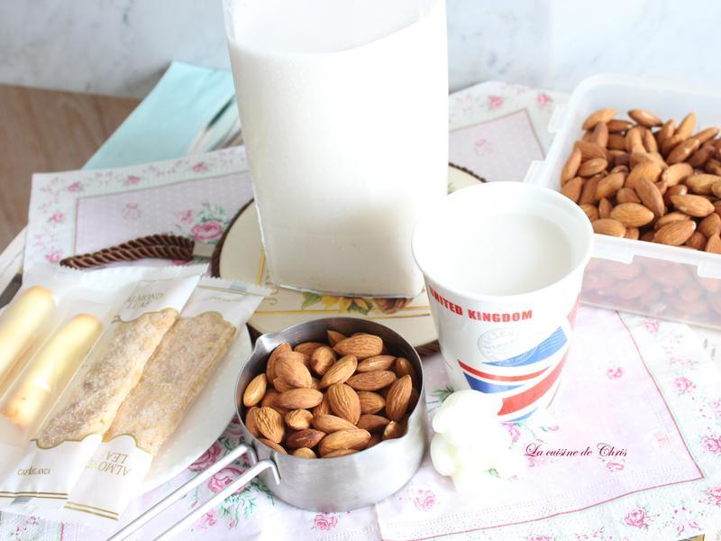 自製杏仁奶 (簡單兩步驟)