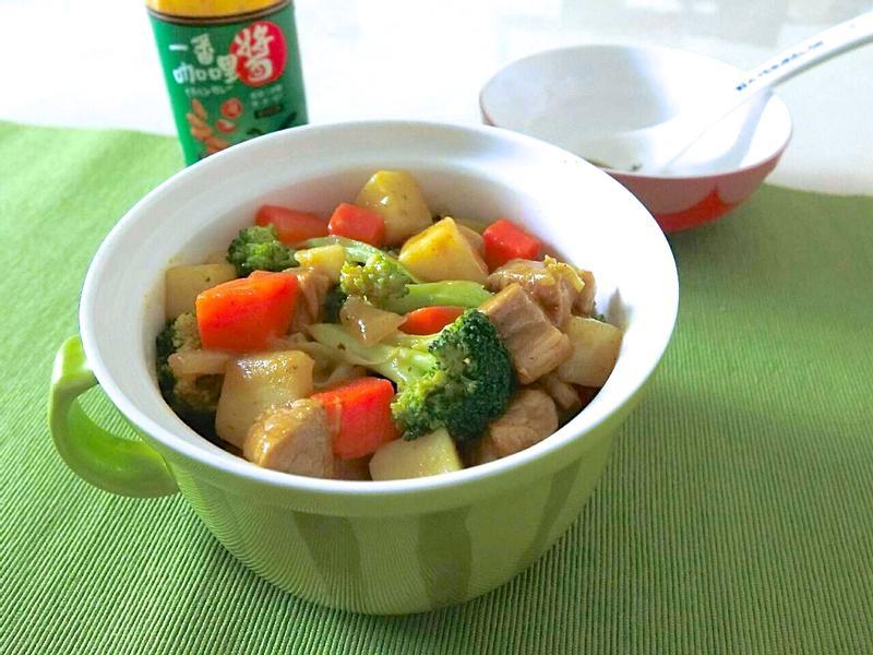 豬五花咖哩鍋
