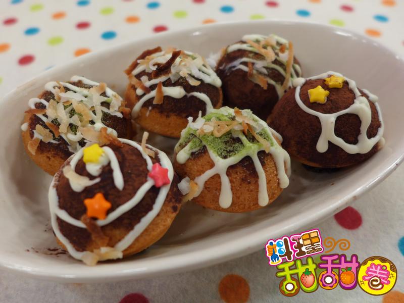 料理甜甜圈【甜蜜午茶】甜蜜章魚燒
