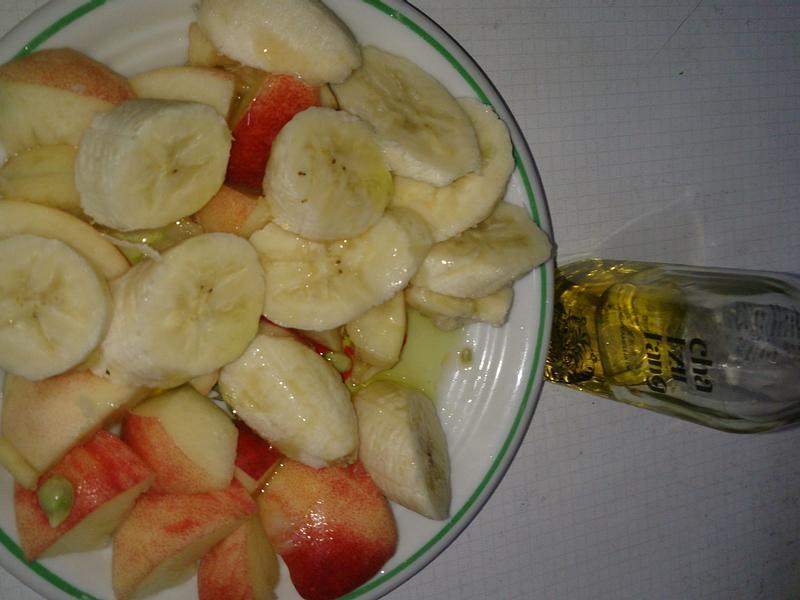 水蜜桃香蕉苦茶油沙拉【自然好油x茶籽堂】