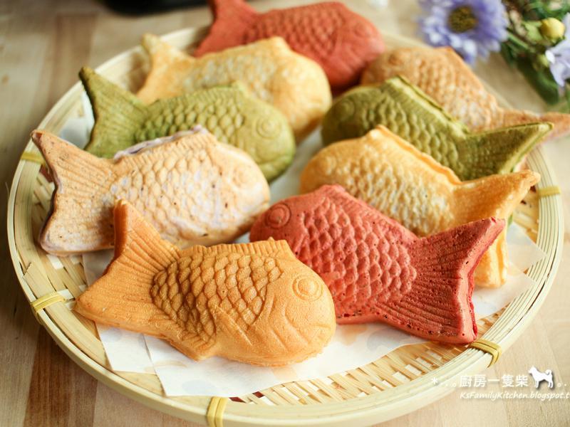 彩色鯛魚燒