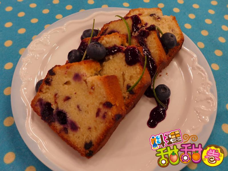 料理甜甜圈【護眼料理】雙莓磅蛋糕