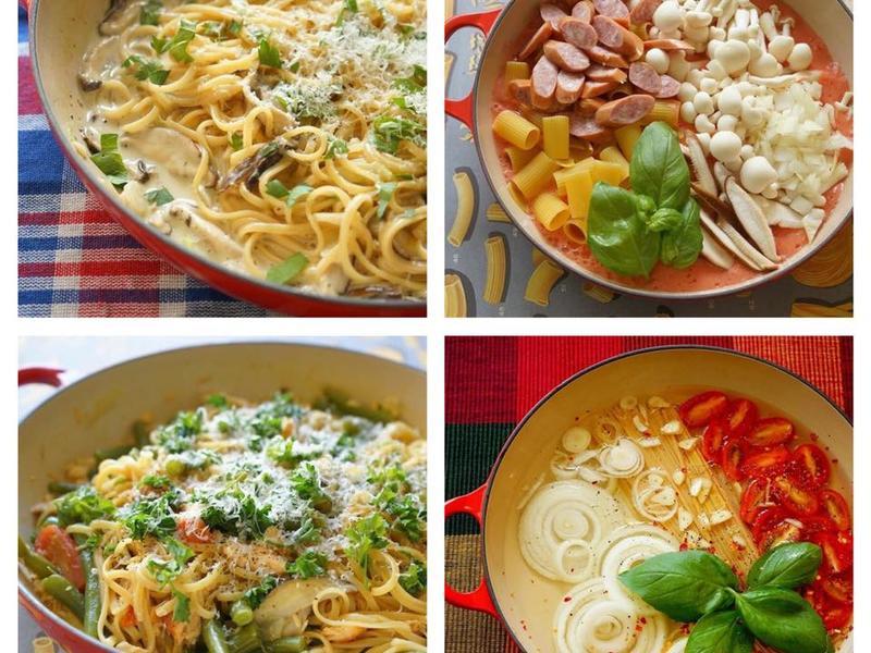 單身料理食譜-一鍋到底義大利麵
