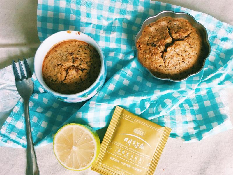 健康版低熱量檸檬紅茶馬芬