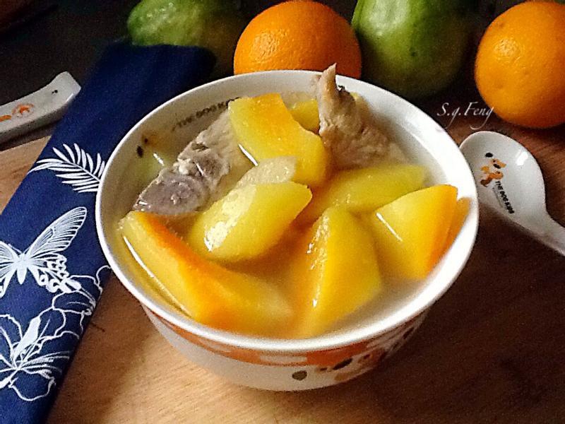青木瓜排骨湯