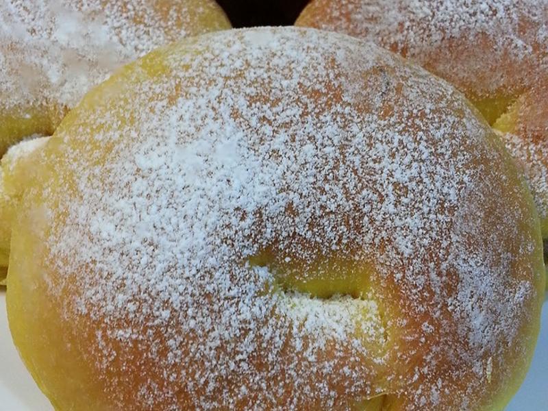 南瓜香蒜鮪魚麵包~湯種法