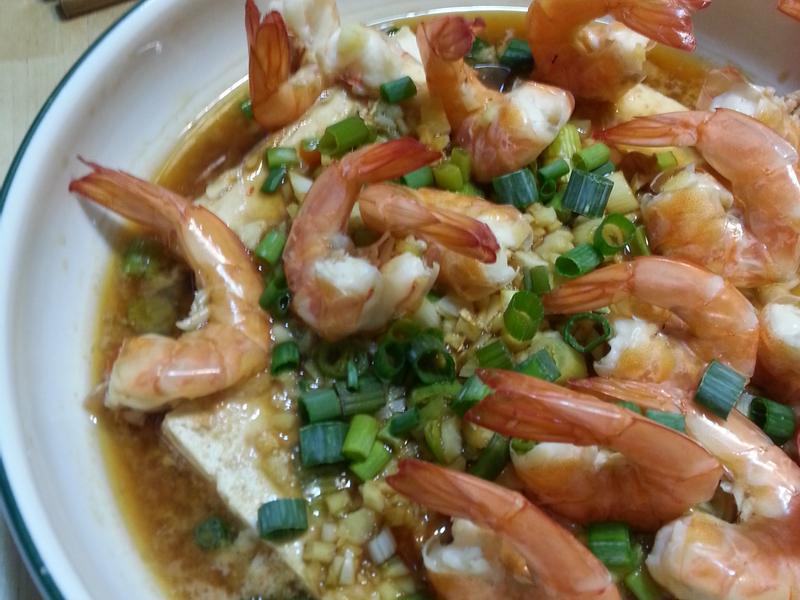 泰式辣醬蒸蝦