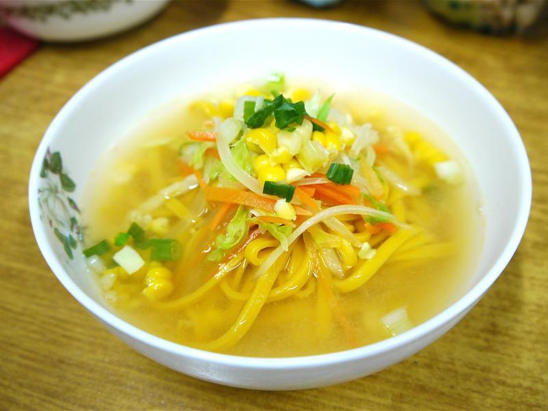 【超健康】味噌蔬食薑黃拉麵