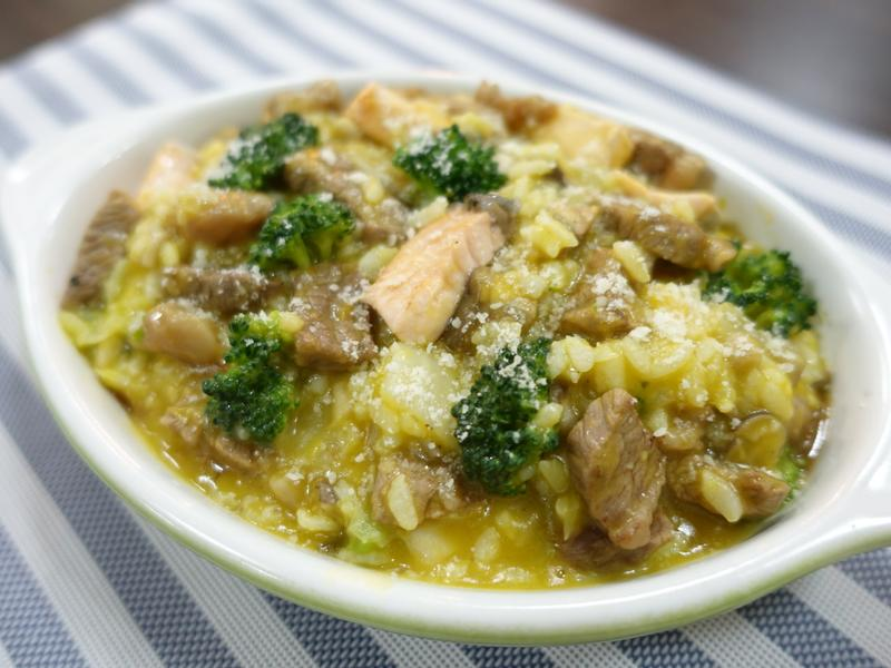 寵物鮮食/牛肉鮭魚南瓜燉飯