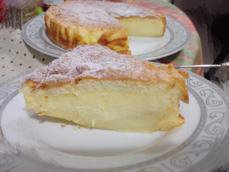 神奇三層蛋糕