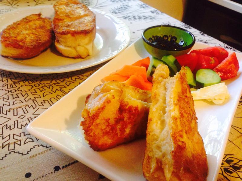 來個土耳其早餐吧!(2)香煎奶酪麵包