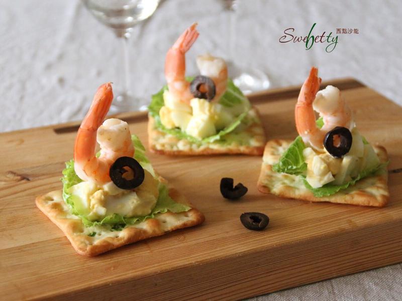 鮮蝦蛋沙拉蘇打餅【自然の顏餅乾趴】
