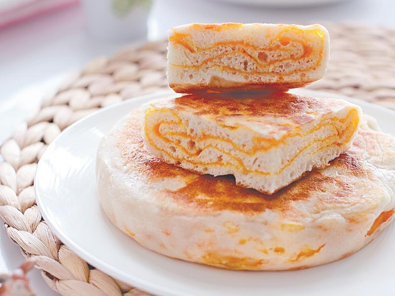 《媽媽的味道!幸福百變麵點》南瓜烙餅