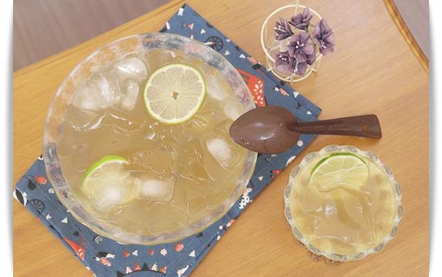 檸檬愛玉 - 天然消暑夏日涼品♪