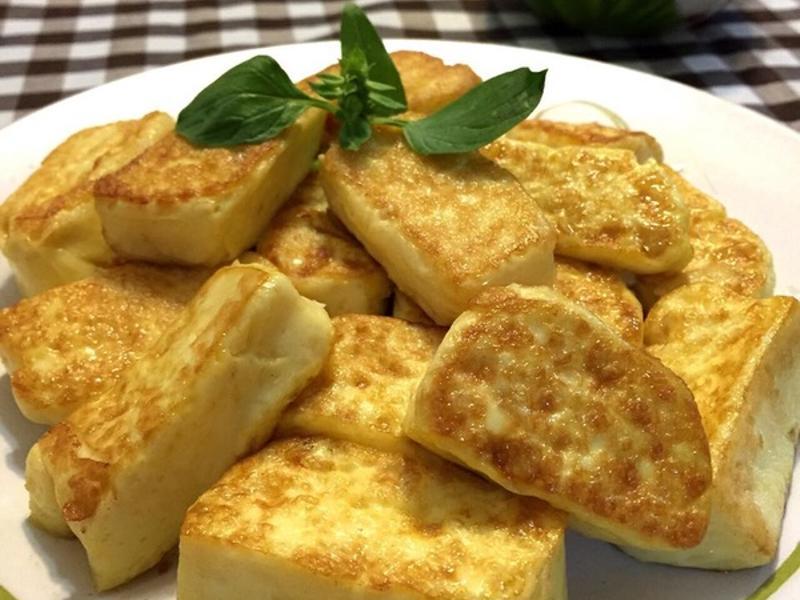 自製蛋豆腐