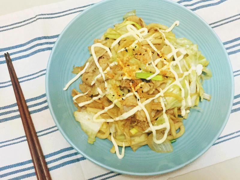 【外宿料理】日式炒烏龍