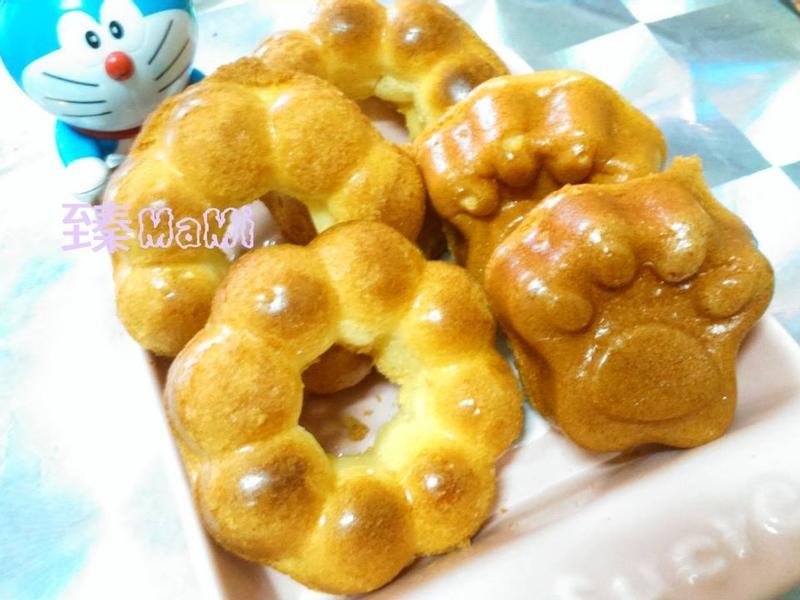 【蜂蜜優酪蛋糕甜甜圈】