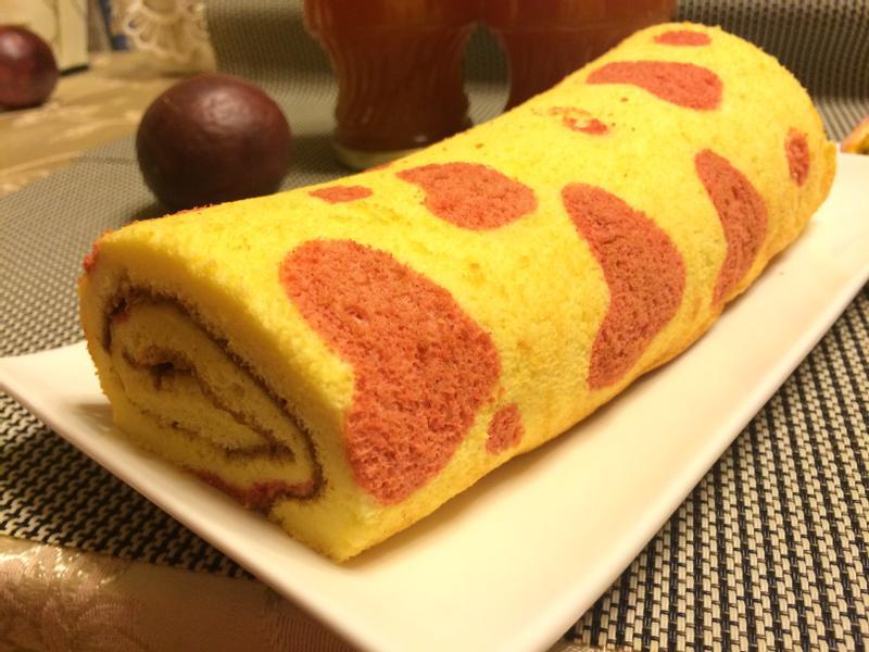 百香果蛋糕捲(百香果瑞士捲)