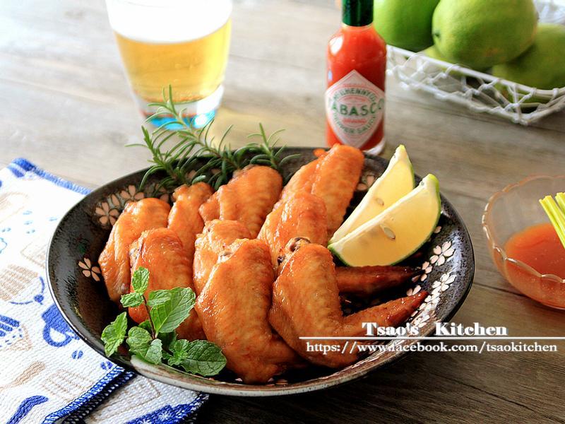 紐奧良香辣烤雞翅