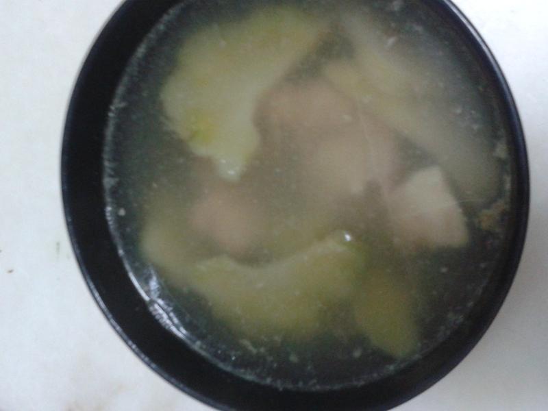 榨菜排骨湯