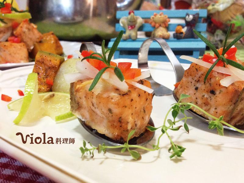法式香草烤鮭魚