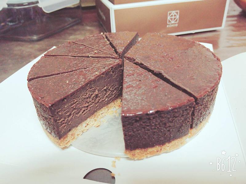 巧克力重乳酪蛋糕
