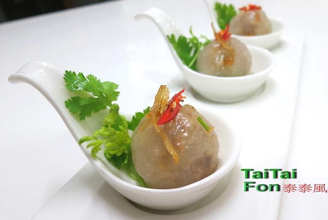 可用來創業的泰國小點สาคูไส้หมู
