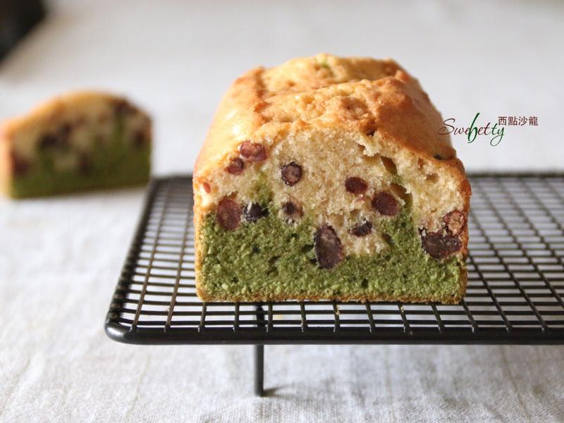 雙層抹茶紅豆磅蛋糕