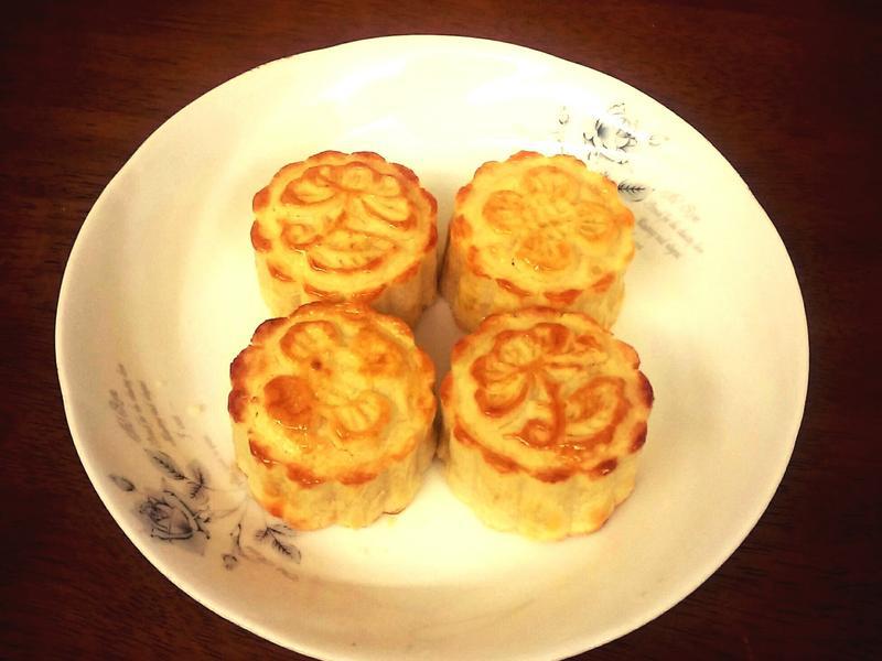 🌕👯脆皮奶黃月餅🌕👯