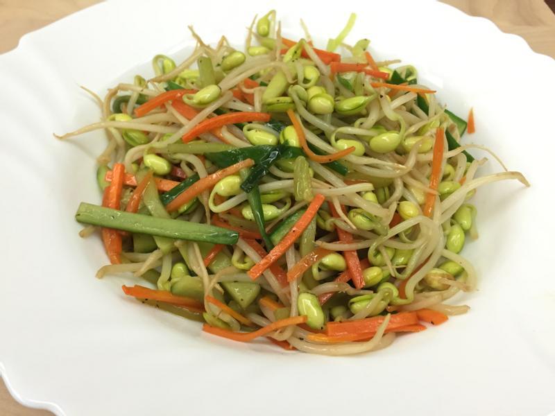 圈媽 三色銀芽(豆芽菜、小黃瓜、紅蘿蔔)