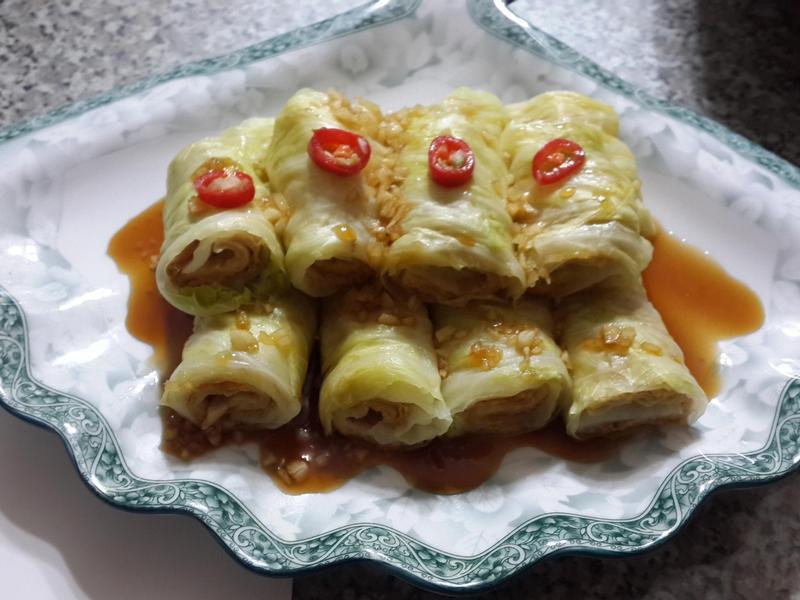 日式和風高麗菜捲