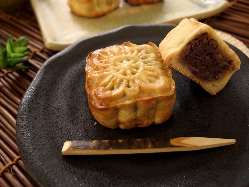 廣式豆沙小月餅