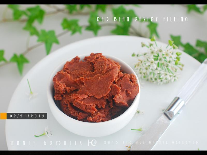 超簡單自製紅豆沙餡*全豆*超低油