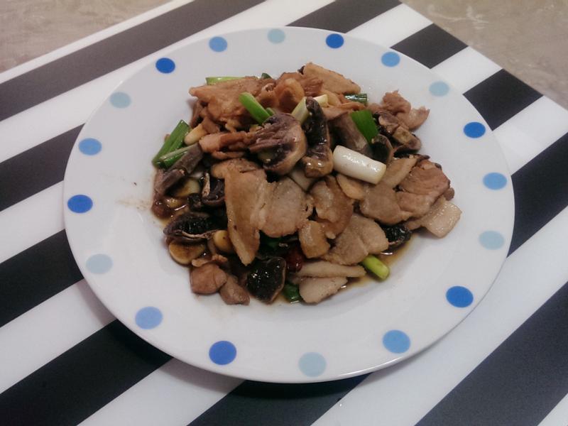 醬燒蘑菇五花肉