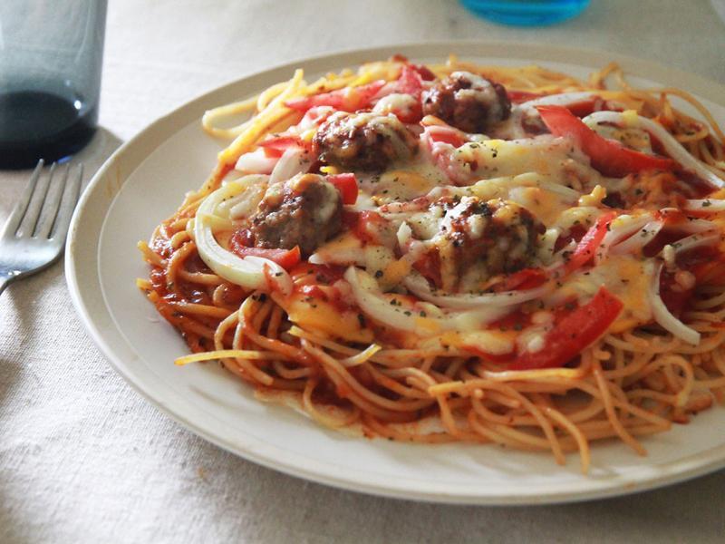 番茄肉醬Pizza_小七食堂