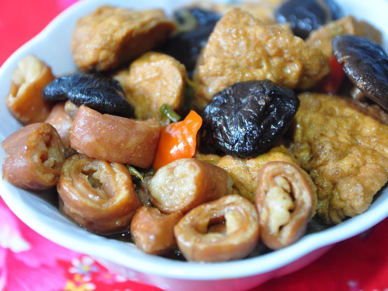[大同電鍋] 香滷肥腸油豆腐