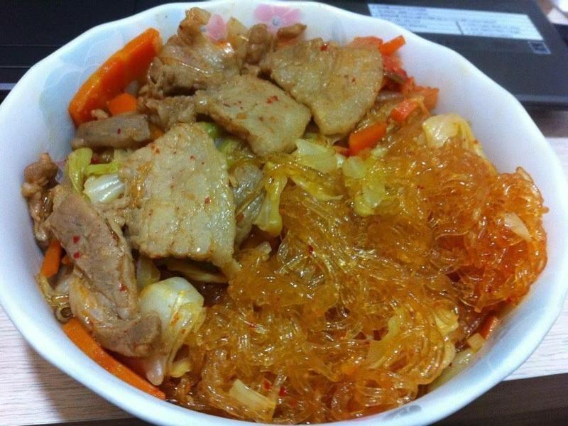 韓式泡菜燒肉冬粉