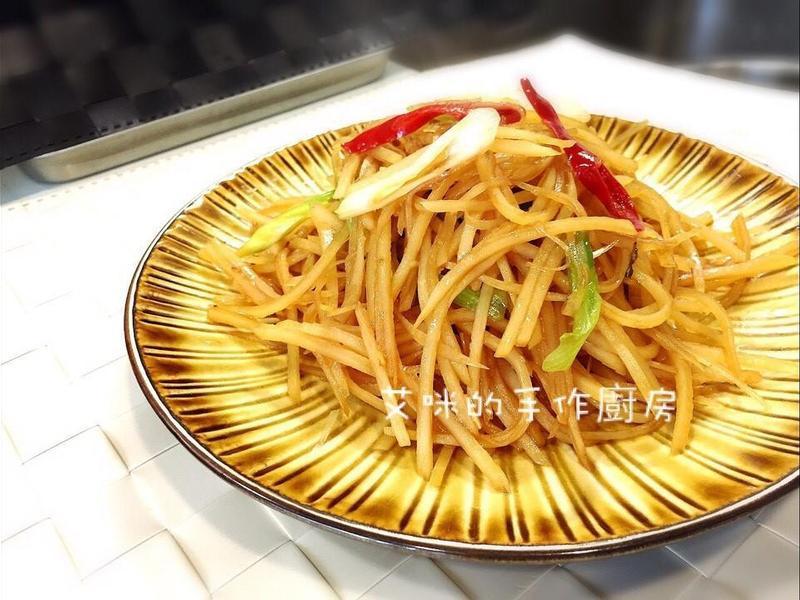 醋溜土豆絲-下酒菜