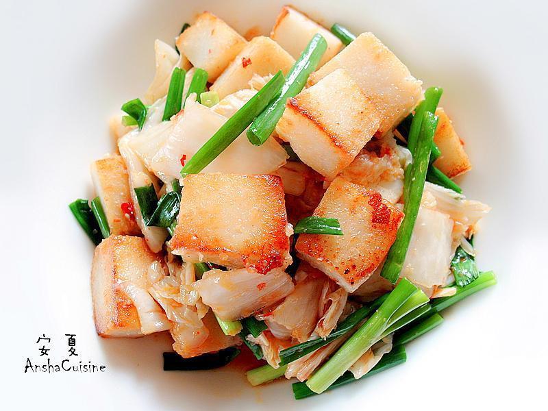 泡菜蘿蔔糕-5分鐘上菜
