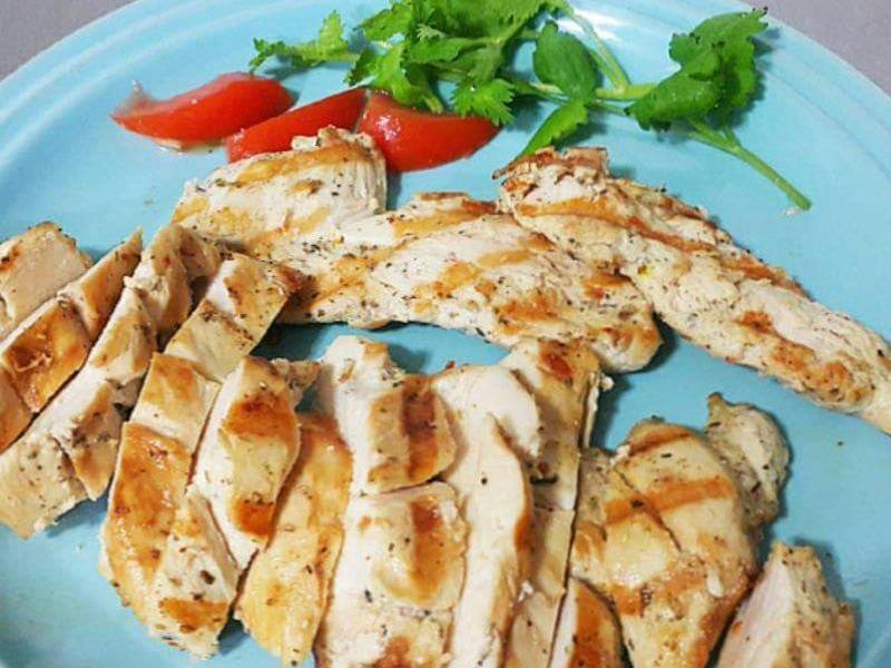 香煎椒鹽雞胸肉