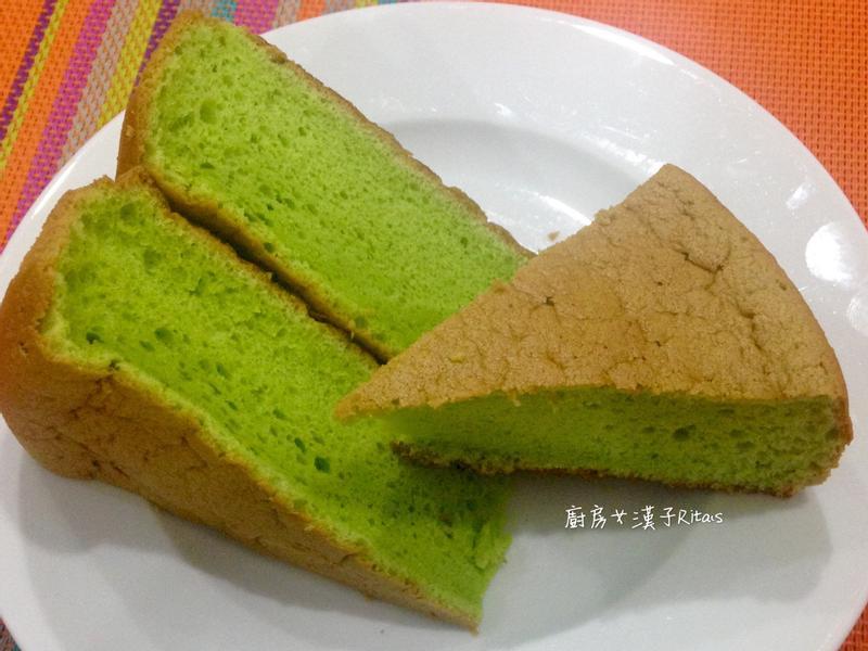 斑蘭戚風蛋糕(無色素添加)
