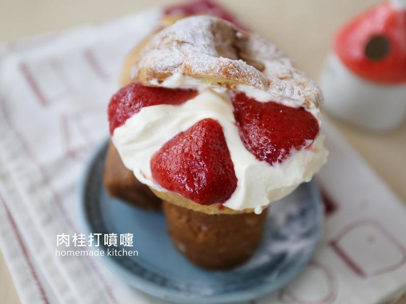 美式草莓泡泡歐夫