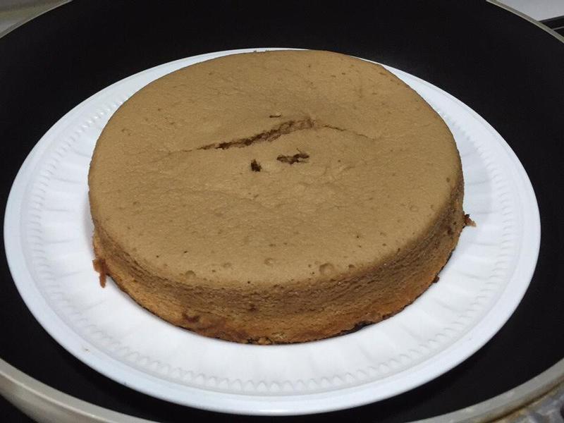 黑糖水蒸蛋糕