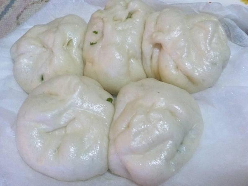薄皮蔥花肉包子「假日料理」